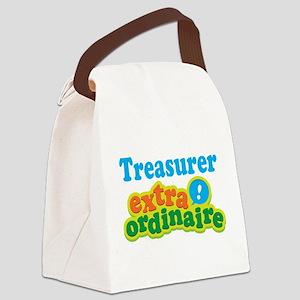 Treasurer Extraordinaire Canvas Lunch Bag