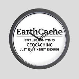 Earthcache - geocaching isn't nerdy enough Wall Cl