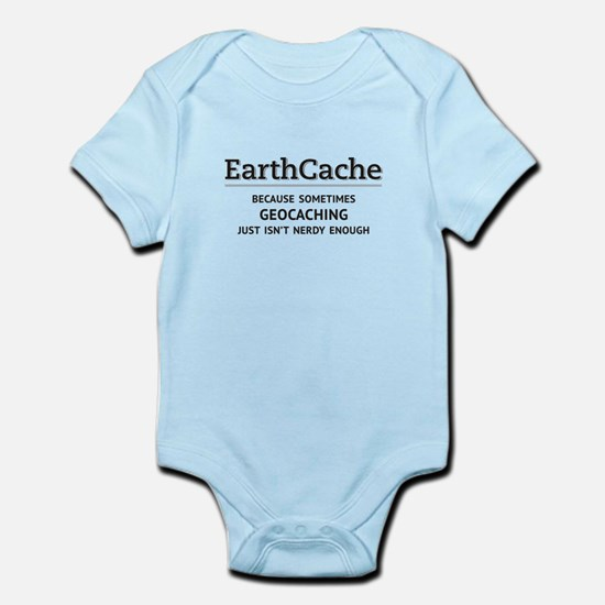 Earthcache - geocaching isn't nerdy enough Infant