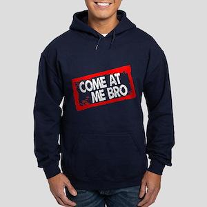 Come at me bro Hoodie (dark)
