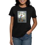 Baggage Poster Women's Dark T-Shirt