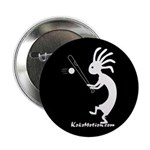 Kokopelli Baseball Player Button