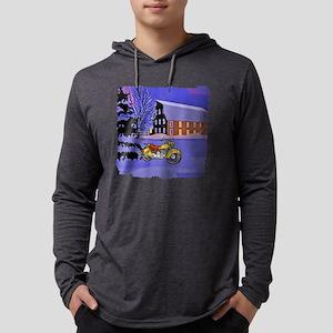 motorcycleshirt Mens Hooded Shirt