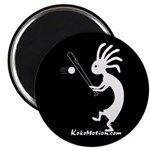 Kokopelli Baseball Player Magnet
