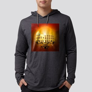 The Colosseum Mens Hooded Shirt