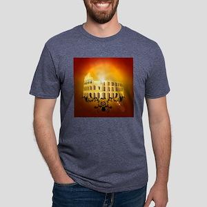 The Colosseum Mens Tri-blend T-Shirt