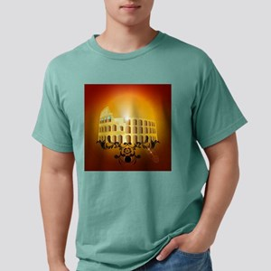 The Colosseum Mens Comfort Colors Shirt