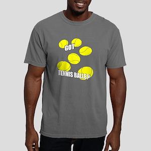 ppl_got_tennisballs_blac Mens Comfort Colors Shirt