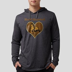 Hoof Hearted Mens Hooded Shirt