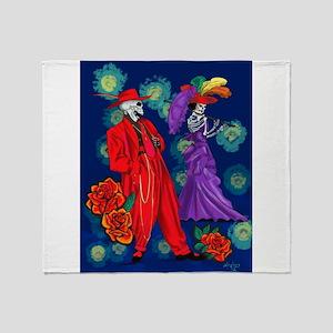Zoot por Muertos Throw Blanket
