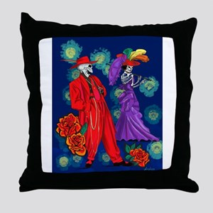 Zoot por Muertos Throw Pillow