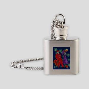 Zoot por Muertos Flask Necklace