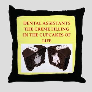 dental Throw Pillow