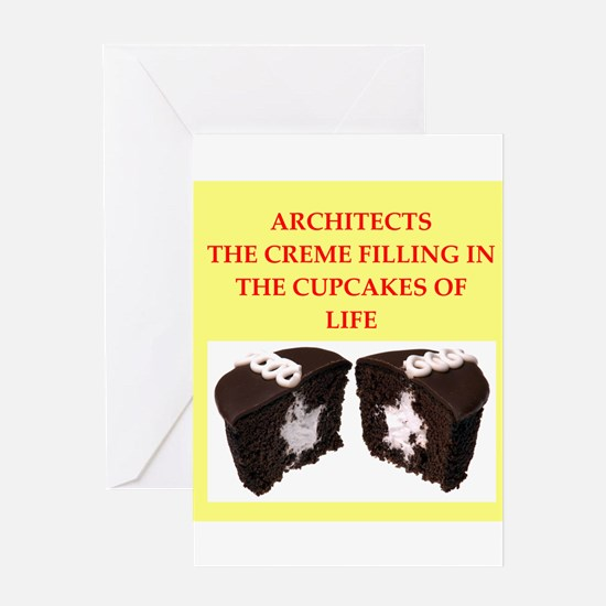 architect Greeting Card