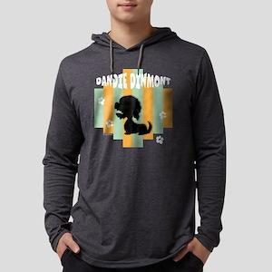 DandieStripe4 Mens Hooded Shirt
