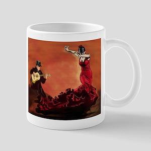 Flamenco Dancer and Guitarist Mug