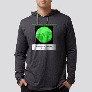 you might be a knitter knit visi Mens Hooded Shirt