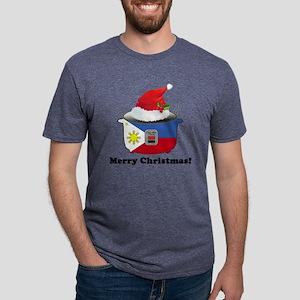 Pinoy Rice Cooker - Christm Mens Tri-blend T-Shirt