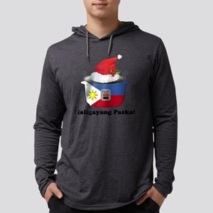 Pinoy Rice Cooker - Pasko Mens Hooded Shirt