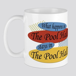 What Happens In The Pool Hall Mug