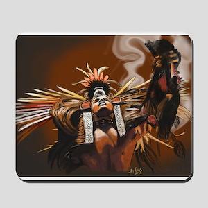 Aztec Dancer - Man Mousepad
