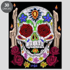 Dia de Los Muertos Skull Puzzle