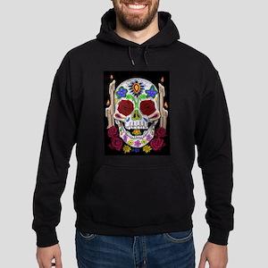 Dia de Los Muertos Skull Hoodie (dark)