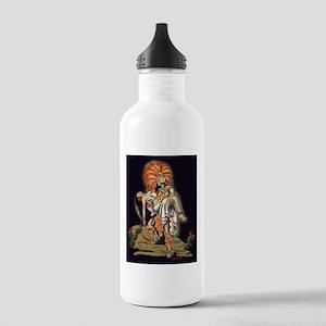 Aztec Warrior and Maiden Stainless Water Bottle 1.