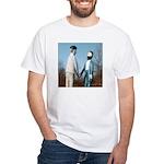 Davis-Marsh Handshake White T-Shirt