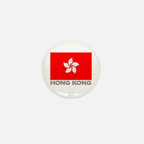 Hong Kong Flag Stuff Mini Button