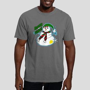Dang Fido Snowman Mens Comfort Colors Shirt
