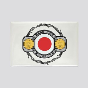 Japan Water Polo Rectangle Magnet