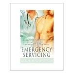 Emergency Servicing Small Poster