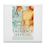 Emergency Servicing Tile Coaster