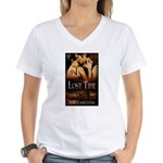 Lost Time Women's V-Neck T-Shirt