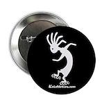 Kokopelli Inline Skater Button