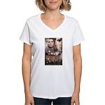 Morvea Women's V-Neck T-Shirt