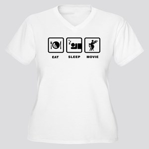 Movie Director Women's Plus Size V-Neck T-Shirt