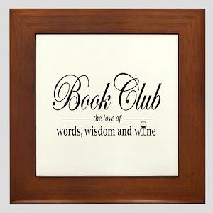 Book Club.png Framed Tile