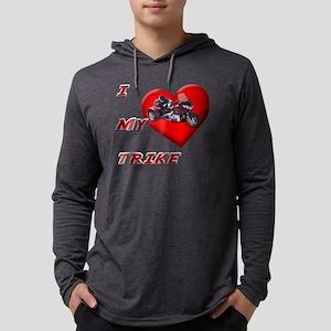 I Heart My Trike Mens Hooded Shirt