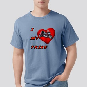 I Heart My Trike Mens Comfort Colors Shirt