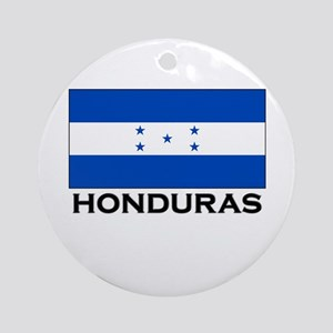 Honduras Flag Merchandise Ornament (Round)