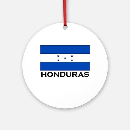 Honduras Flag Merchandise Ornament (Round)
