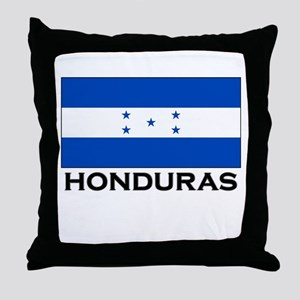Honduras Flag Merchandise Throw Pillow