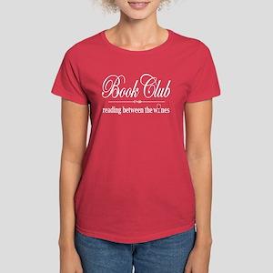 Reading Between The Wines Women's Dark T-Shirt