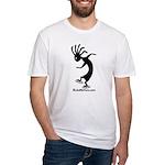 Kokopelli Inline Skater Fitted T-Shirt