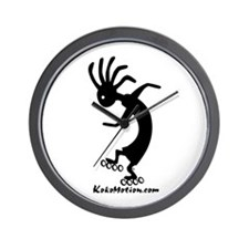 Kokopelli Inline Skater Wall Clock