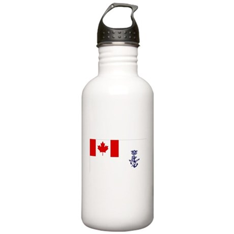 Naval Jack of Canada Stainless Water Bottle 1.0L