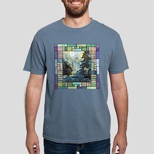 Transportationtile Mens Comfort Colors Shirt