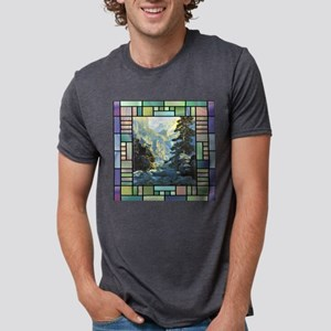 Transportationtile Mens Tri-blend T-Shirt